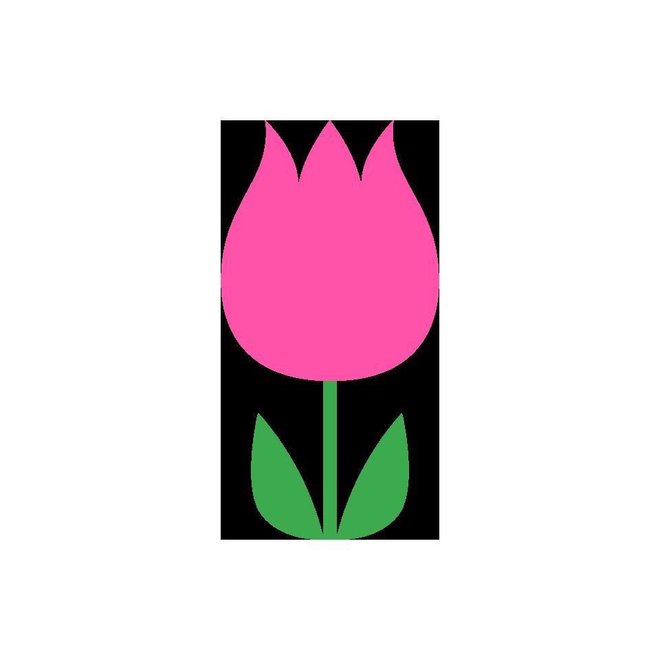 ピンク色系の花